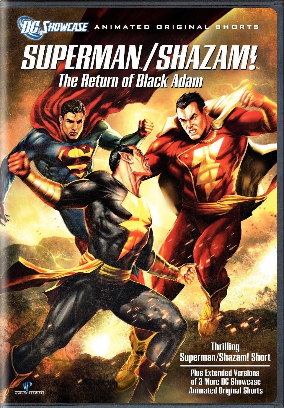 Superman Shazam - The Return Of Black Adam