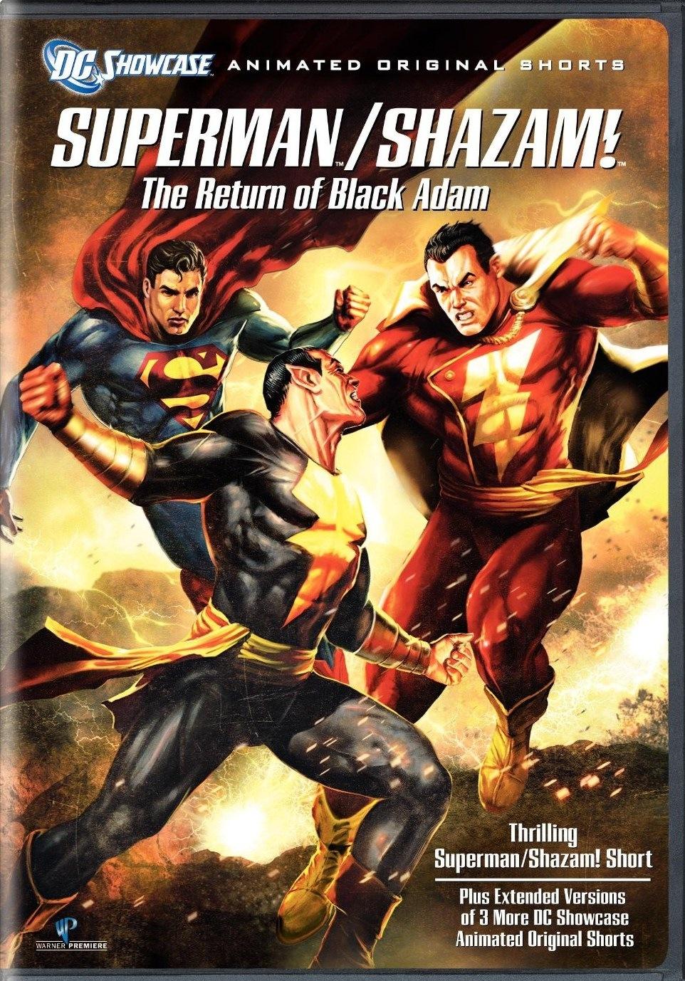 Superman Shazam - The Return Of Black Adam